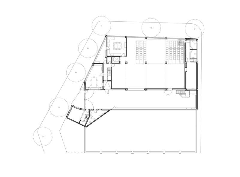 previous state. ground floor